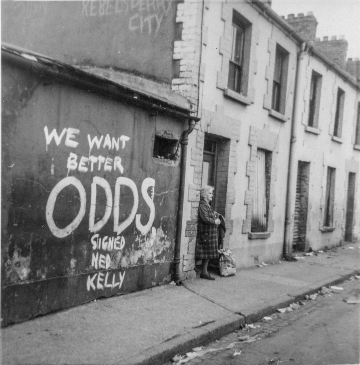 North of Ireland, August 1969. By Bob Quinn.
