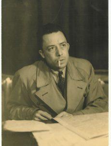Albert Camus in 1957 by Robert Edwards