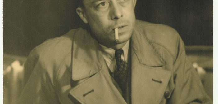 Albert Camus in 1957 by Robert Edwards
