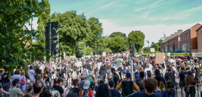Photo Desk: Black Lives Matter Dublin Protest June 1st 2020