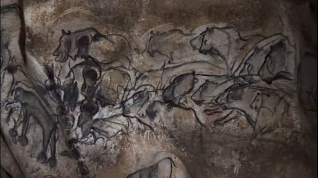 Lions_group_Chauvet_Cave